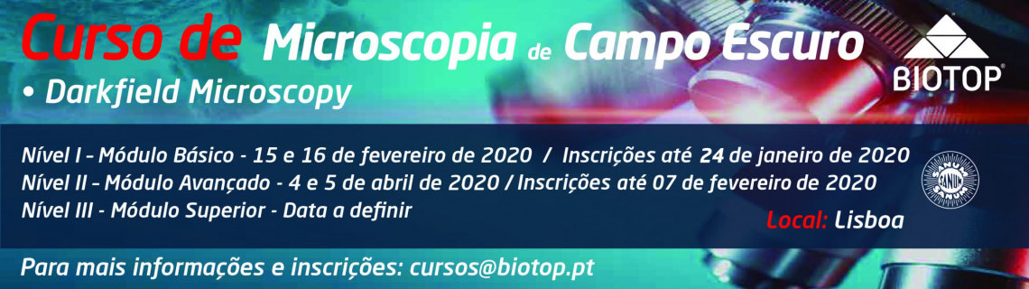 Curso de Microscopia de Campo Escuro 2020