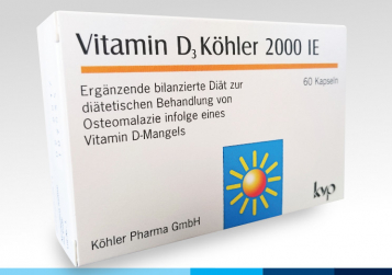 BIOTOP® KÖHLER PHARMA GMBH - VITAMINA D Köhler 2000 UI®