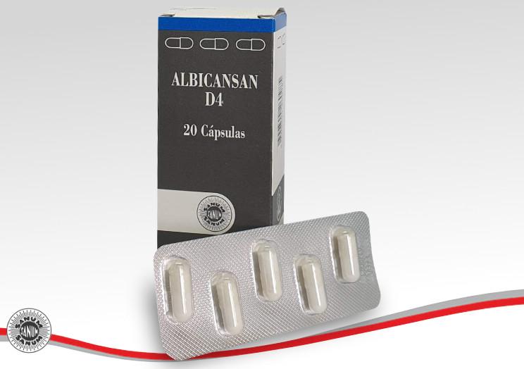 BIOTOP® SANUM-KEHLBECK - ALBICANSAN® D4 Cápsulas