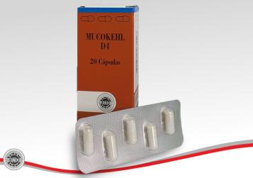 BIOTOP® SANUM-KEHLBECK - MUCOKEHL® D4 Cápsulas