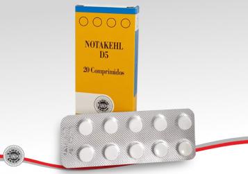 BIOTOP® SANUM-KEHLBECK - NOTAKHEL® D5 Comprimidos